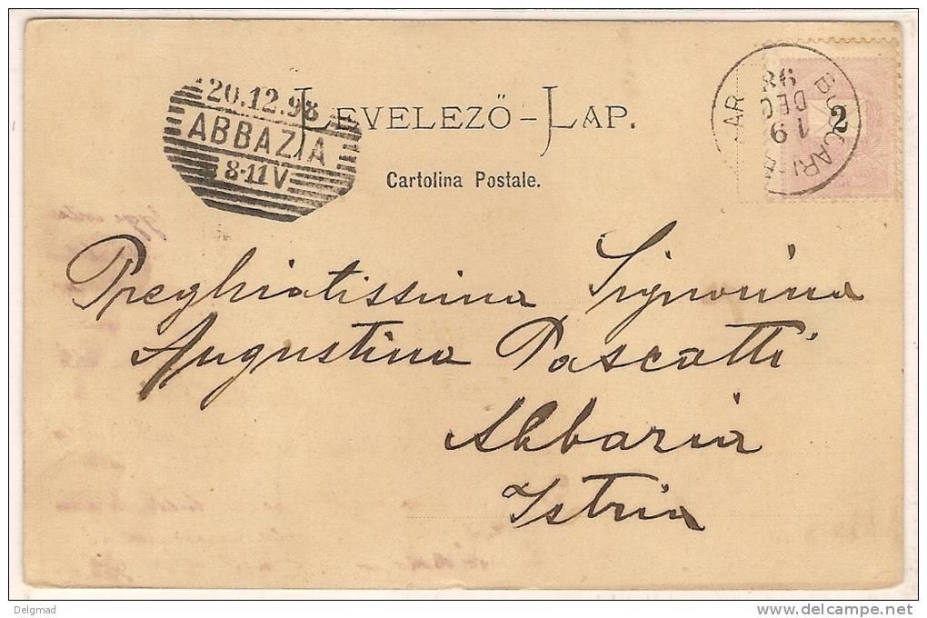 CROATIA Podzdrav Iz BAKRA Buccari 1898 - Croatia