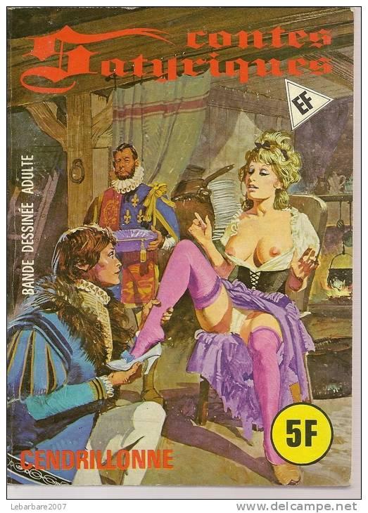 CONTES SATYRIQUES   N° 41  -  ELVIFRANCE -    1978 - Erotik (Frei Ab 18)