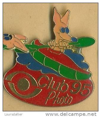 PINS CLUB PHOTO 95 KANGOUROU 2 - Fotografie