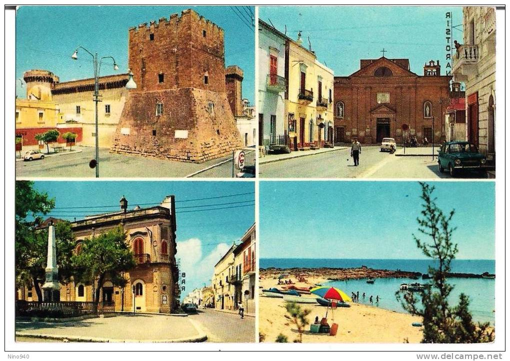 PULSANO (TA) - 4 VEDUTINE - F/G - V: 1974 - Italie