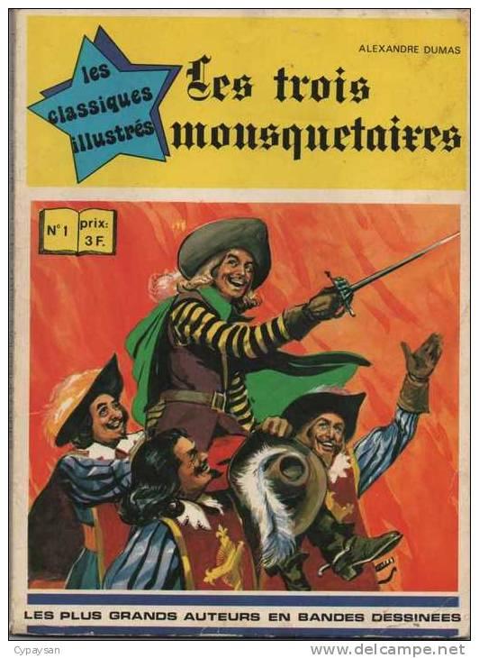 CLASSIQUES ILLUSTRES N° 1 BE 3 MOUSQUETAIRES WILLIAMS 1973 - Non Classés
