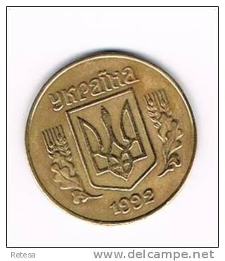 OEKRAINE  25 KOPIYOK  1992 - Ukraine