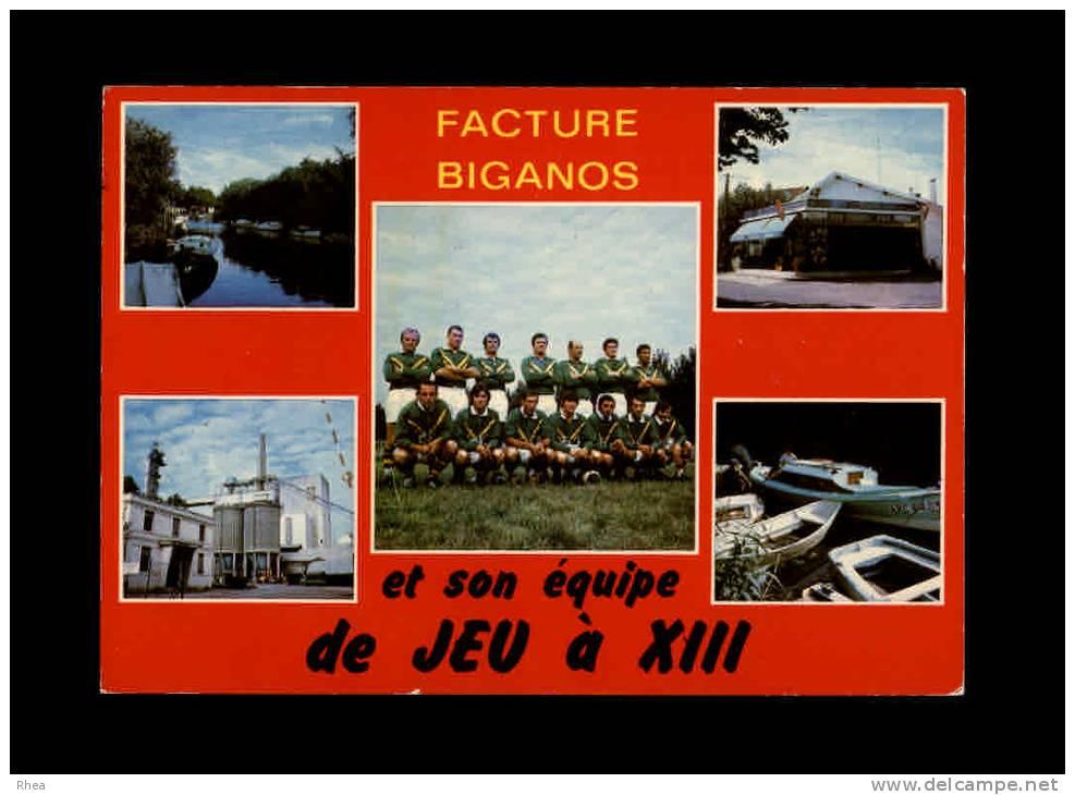 33 - FACTURE-BIGANOS - Equipe De Bordeaux - Son Siège: Chez Tiéno - 33.051.01 - Multi Vues - France