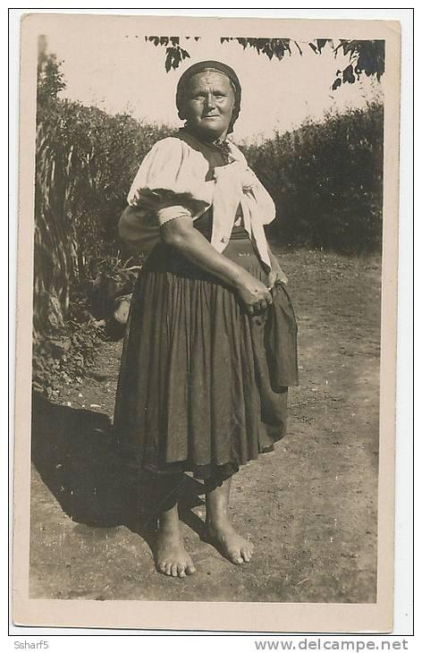 Folklore III.3 Novohradske Vrchy Zena S Nedelista Fot. Karel Plicka C. 1924 - Slovacchia