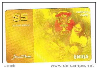 SURINAME (SURINAM) - UNIQA  (GSM RECHARGE) - IEM SABI: 5 GIRLS      - USED  -  RIF. 2062 - Suriname