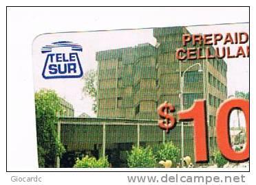 SURINAME (SURINAM) - TELE SUR  (GSM RECHARGE) - MODERN BUILDING     - USED  -  RIF. 2055 - Surinam