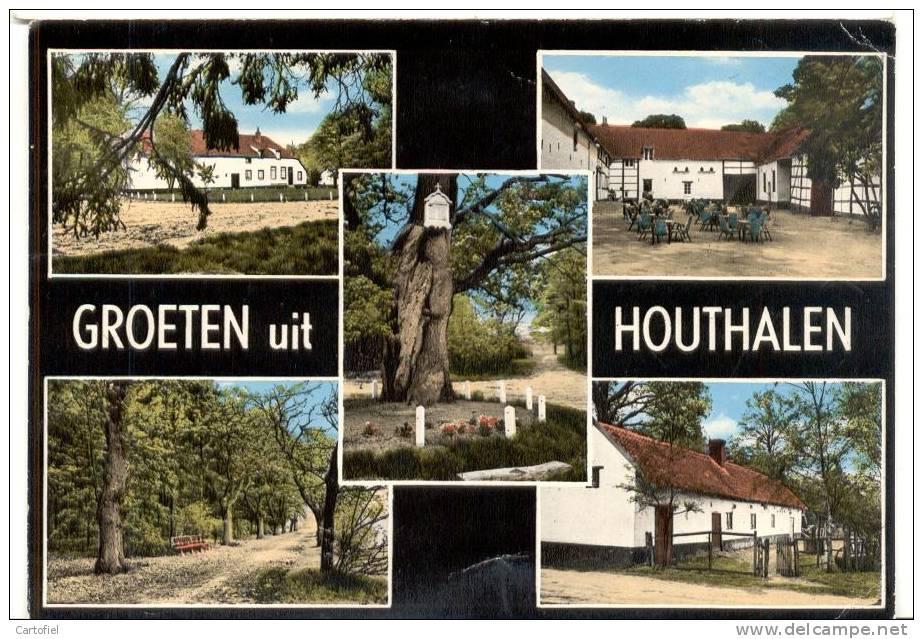 HOUTHALEN-GROETEN UIT HOUTHALEN-KELCHTERHOEF-MEERZICHT - Houthalen-Helchteren