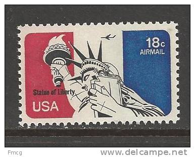 1974 18 Cents Liberty Airmail Never Hinged - United States