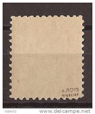 ES801-L4040.España Spain Espagne. ESCUDO DE ESPAÑA.1936. (Ed 801**).sin Charnela.Magnifico,CERTIF ICADO - 1931-50 Nuevos & Fijasellos