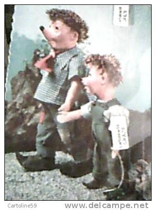 MECKI PAPA BIMBO E PUPAZZO SU JEEP  Ed SUISSE VB1960 DM2443 - Mecki