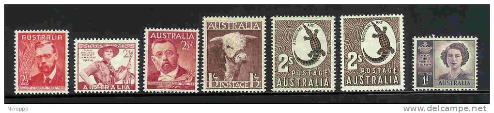Australia-1948 ASC 242-248    MNH - Australia