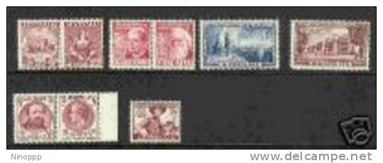 Australia-1950-52 Years ASC 273-81    MNH - Collections