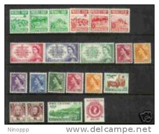 Australia-1953 Year ASC 282-302      MNH - Australia