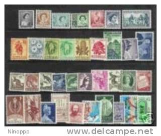 Australia-1959-62 Years ,36 Stamps  MNH - Australia