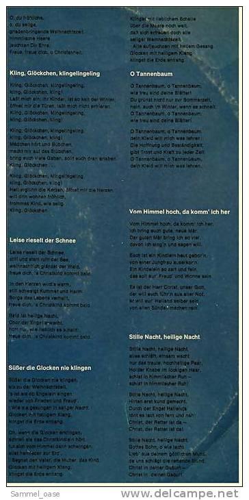 Alte LP Vinyl 1965 ,  Frohe Weihnacht  , 12 Weihnachts-Lieder  -  Von Grammophon Hannover , 109501 - Weihnachtslieder