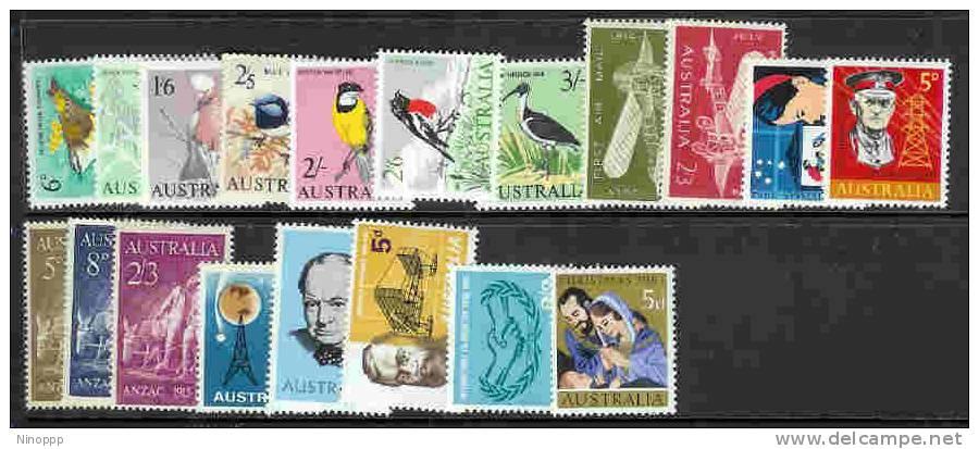 Australia-1964-65 ASC 396-415   MNH - Australia