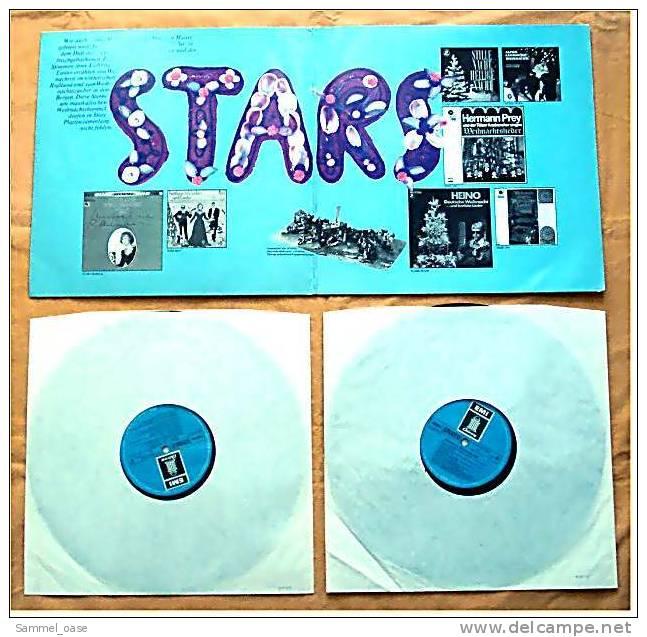 """2 LP`s  """" Weihnachten Der Stars """"  Mit Vielen Bekannten Interpreten  , Von ELECTROLA 148-31 165/66 - Weihnachtslieder"""