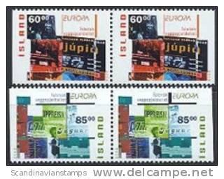 IJsland 2003 Europazegels Paren PF-MNH - Ungebraucht