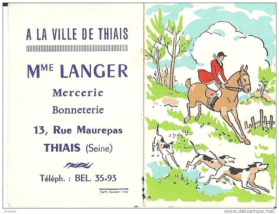 94 - THIAIS - Calendrier A La Ville De Thiais - Calendriers