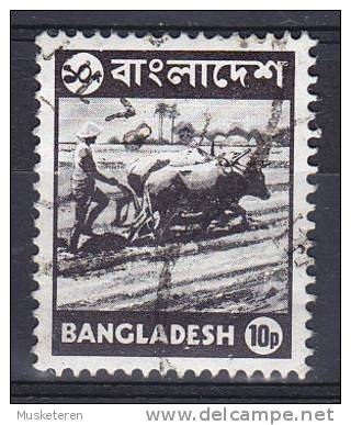 Bangladesh 1976 Mi. 60     10 P Bauer Beim Pflügen Peasant Plowing - Bangladesch