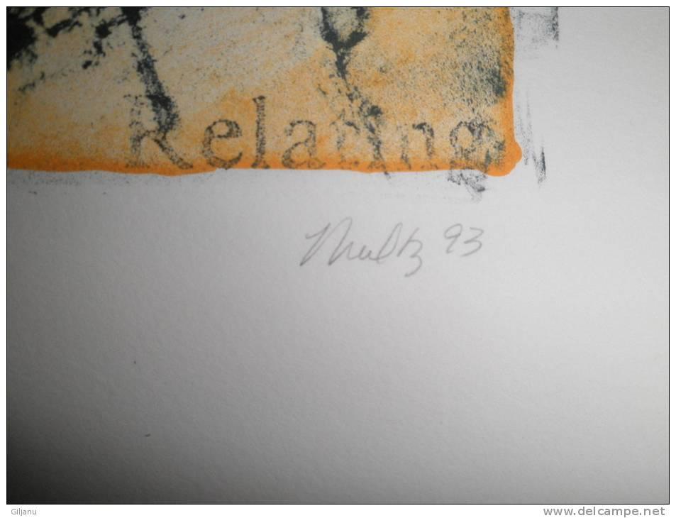 TRES BELLE LITHO   N 180/200   SIGNE   65 X 47 CM - Lithographies