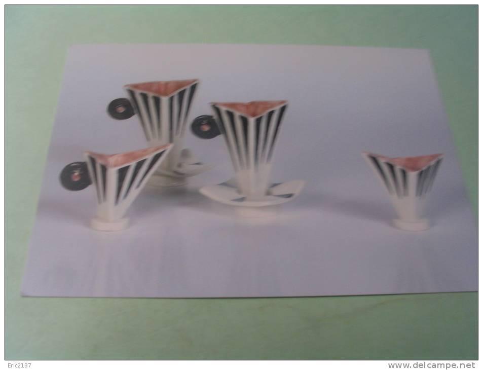 RETRO EXPRESSO CUPS.. PORCELAINE. - Arts