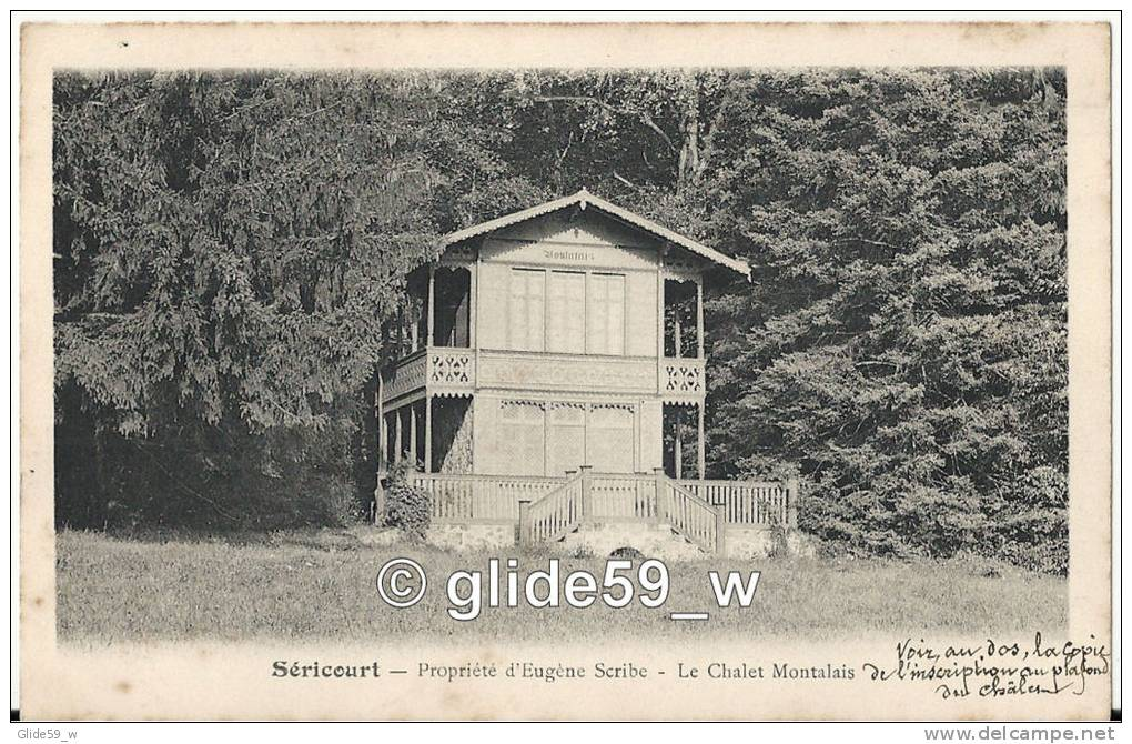 SERICOURT - Propriété D'Eugène Scribe - Le Chalet Montalais - France