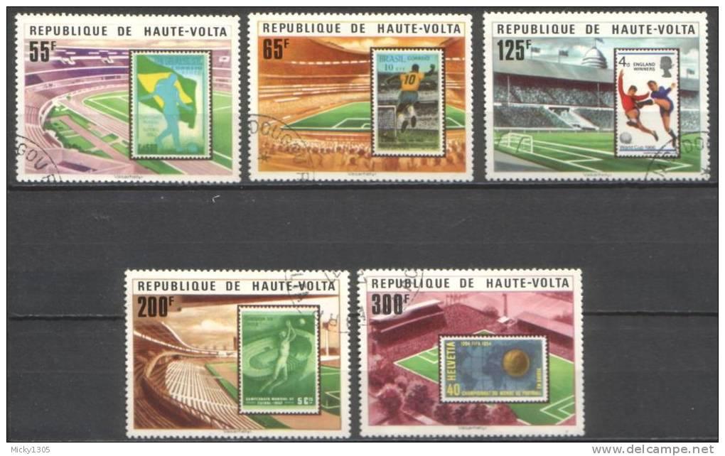 Obervolta / Upper Volta - Mi-Nr 700/704 Gestempelt / Used (p043) - Obervolta (1958-1984)