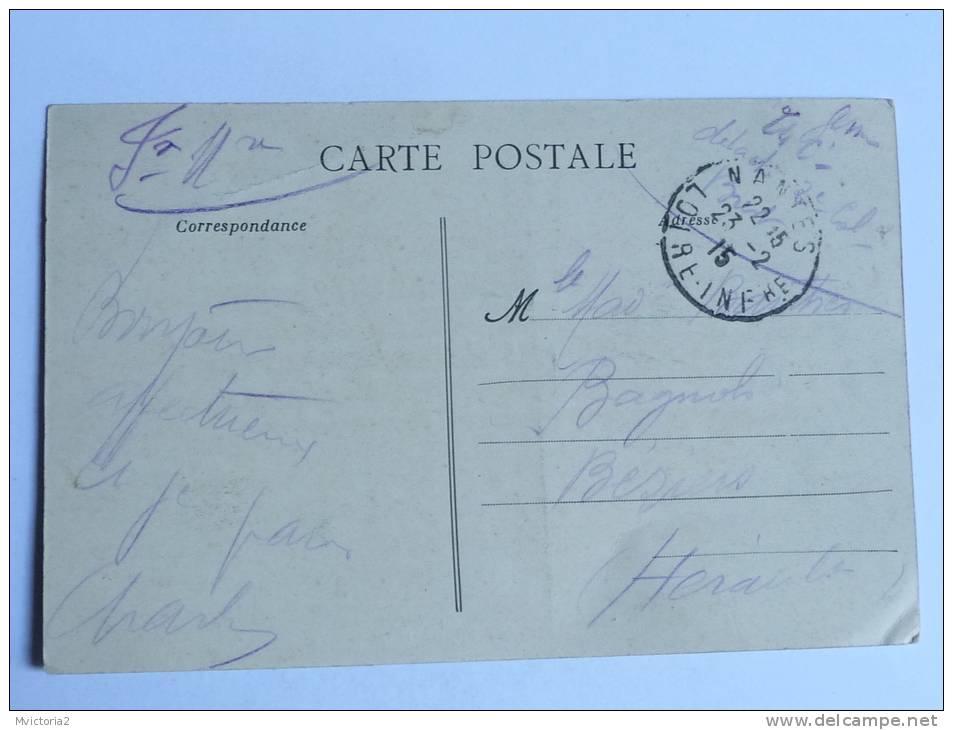 NANTES - Après L'Ecroulement Du Pont Maudit, 16 Juillet 1913, Le Quartier Général De La Catastrophe. - Nantes