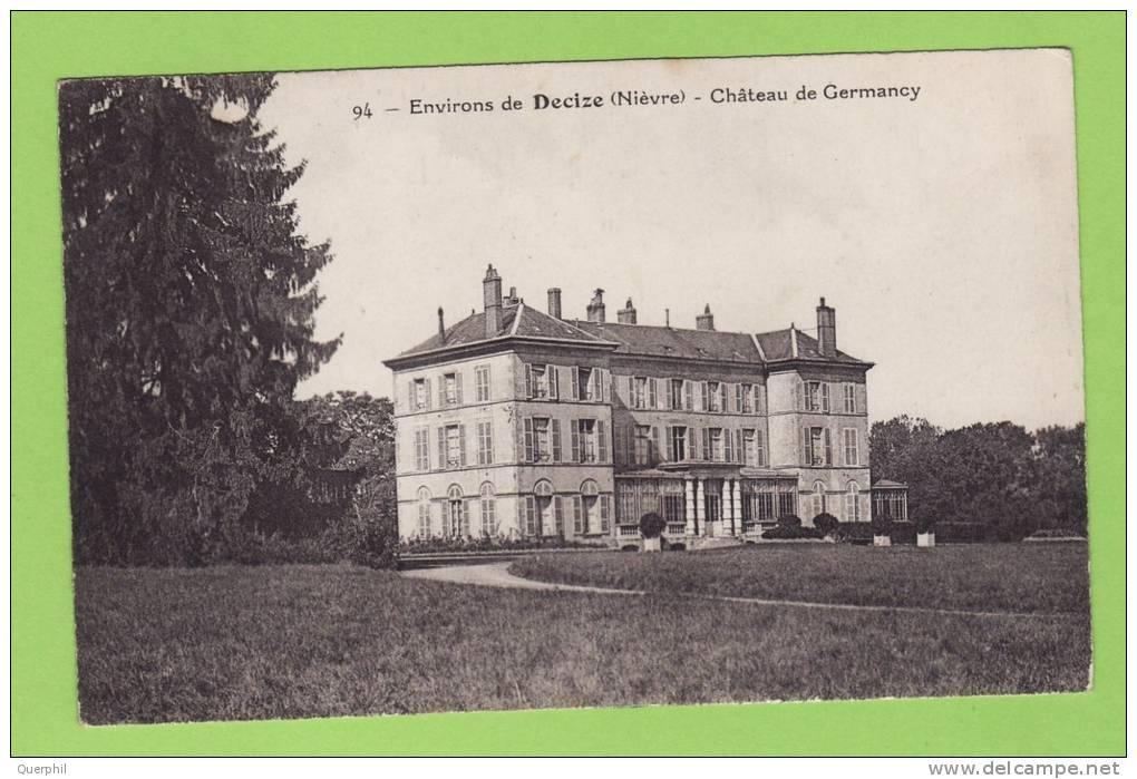 Environs De DECIZE- Château De Germancy - Decize