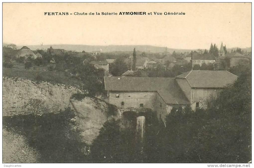 FERTANS - Chute De La  Scierie AYMONIER -  Vue Générale - BE - 2 Scans - Non Classificati
