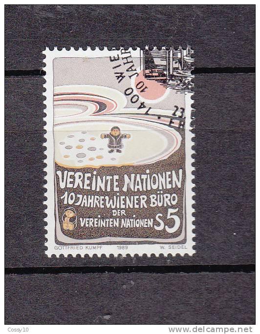 NATIONS  UNIES  VIENNE  1989      N° 94   OBLITERE    CATALOGUE YVERT - Centre International De Vienne