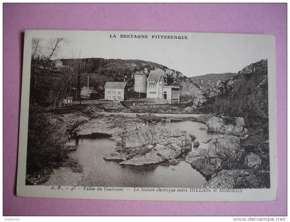 Vallée Du Gouessant   (Côtes D´Armor  )  La Station électrique Entre HILLION Et MORIEUX - Autres Communes