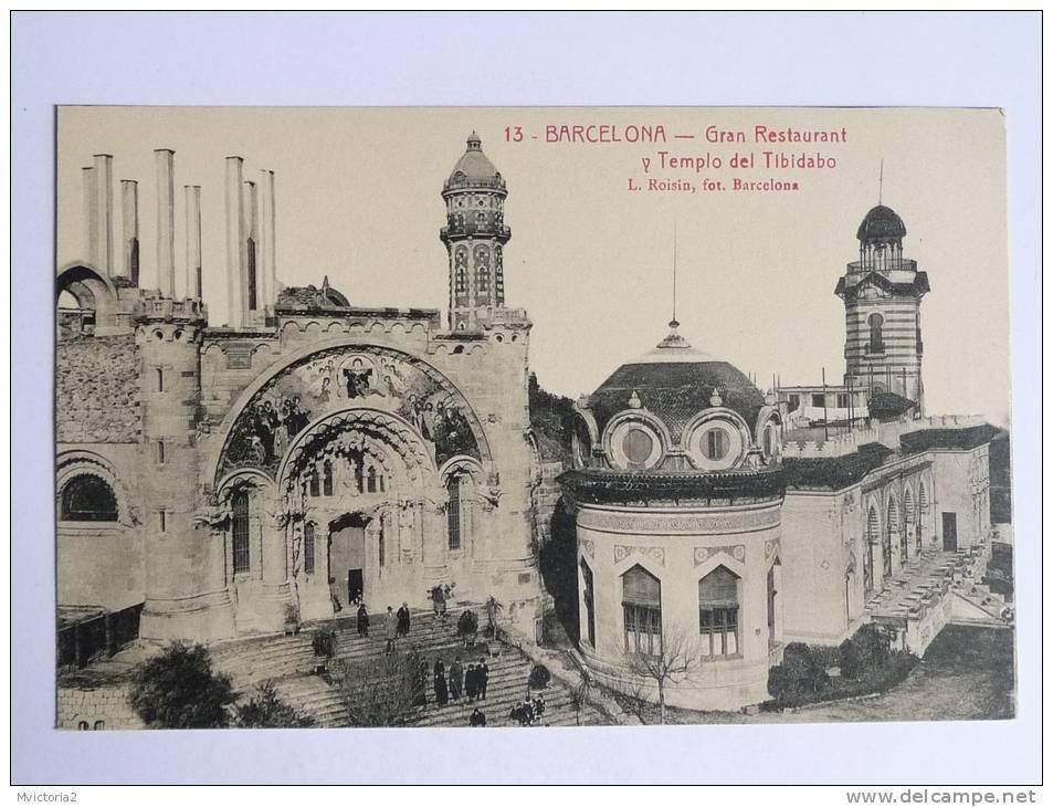 BARCELONA - Gran Restaurant Y Templo Del Tibidabo - Barcelona