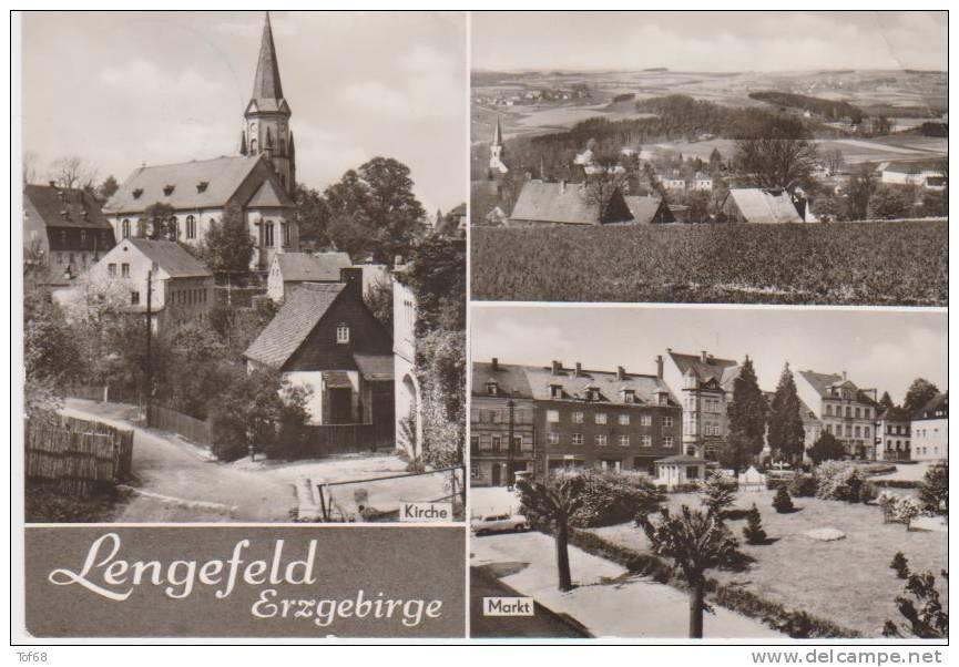 Lengerfeld Erzgebirge Mehrbildkarte - Lengefeld