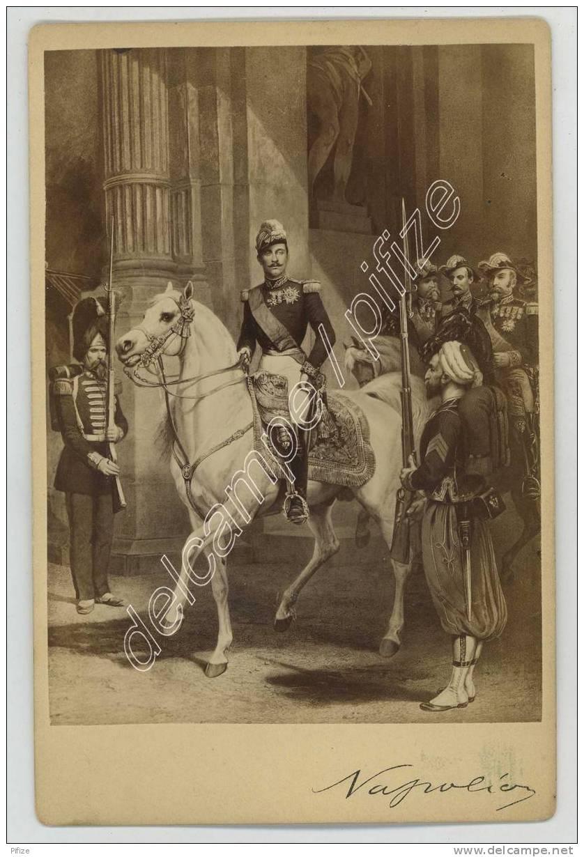 Cabinet Circa 1878 Wilson & Cie, London. Le Prince Impérial Louis Napoléon Bonaparte. - Photographs