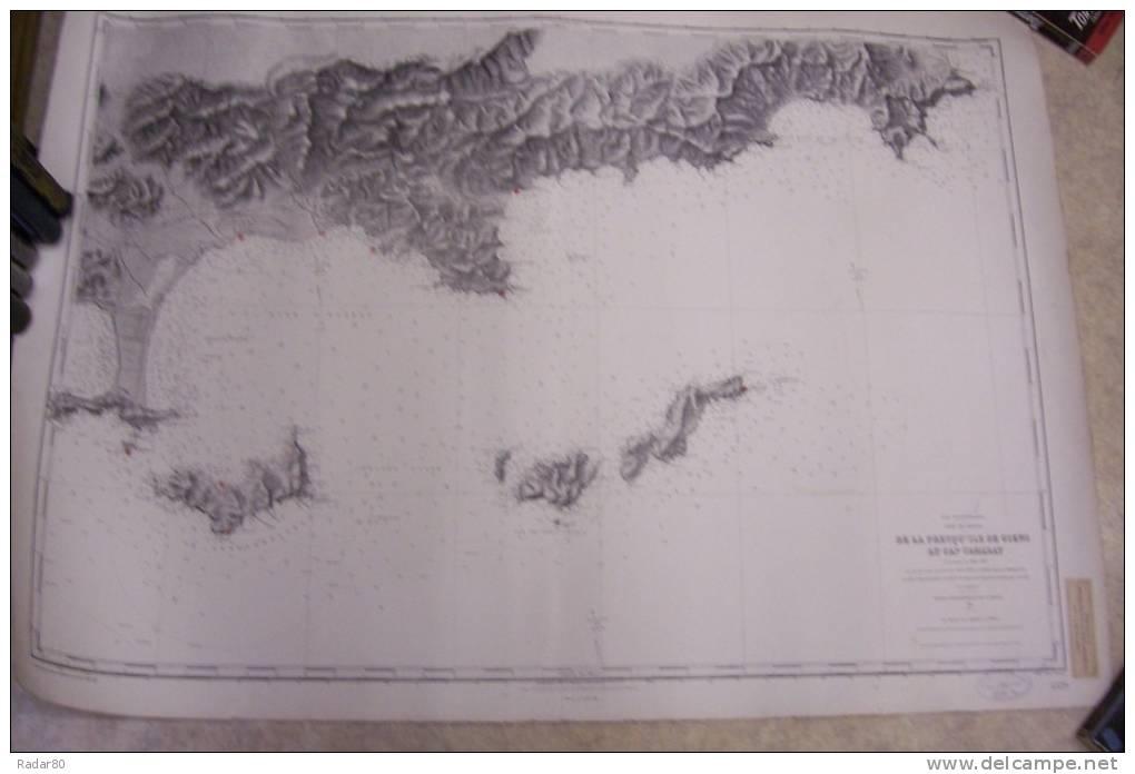 Carte Marine Presqu'ile de Giens de la Presqu´ile de Giens au