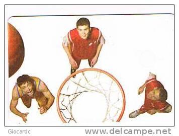 ROMANIA (ROMANIA) - ROMTELECOM  (CHIP) - 2008 READY TO PLAY: BASKETBALL - USED  - RIF. 3379 - Romania