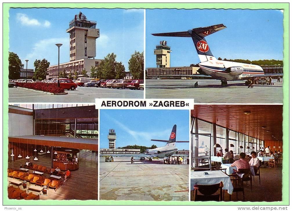 CROATIA - Zagreb, Aerodrome, Year 1971 - Aerodrome