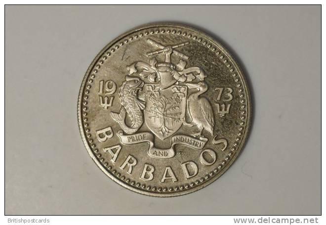 Barbados - 25 Cent - 1973 - Barbades
