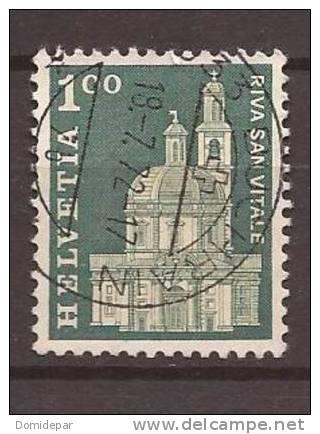 Suisse Oblitéré Année 1960 1969 N° 821 - Switzerland