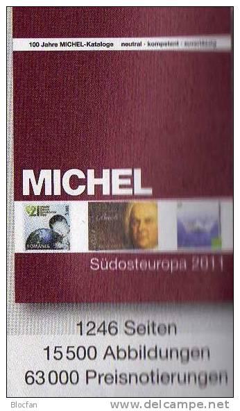 Europe Part 1-7 MICHEL Stamp Catalogue 2011 New 392€ With Austria Helvetia UNO CSR Slowakia CR Hungaria Liechtenstein - Kronieken & Jaarboeken
