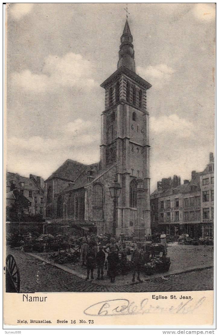 Namur - Eglise St Jean (marché) - Namur