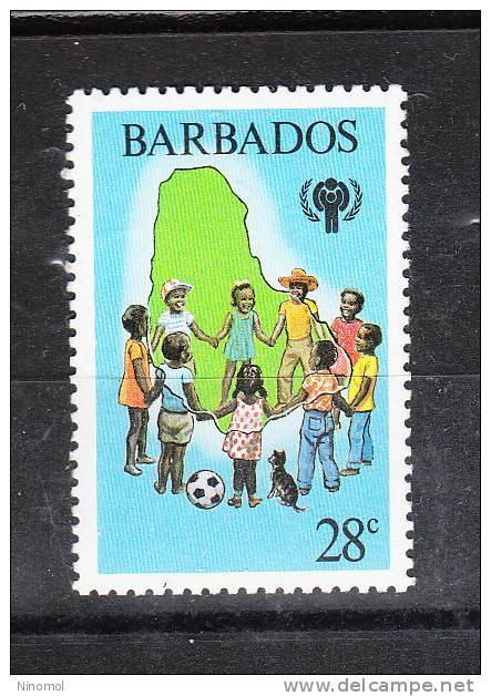 Barbados   -   1979.   Girotondo.  Ring-a- Ring-a- Roses .Youth Year.  MNH - Giochi