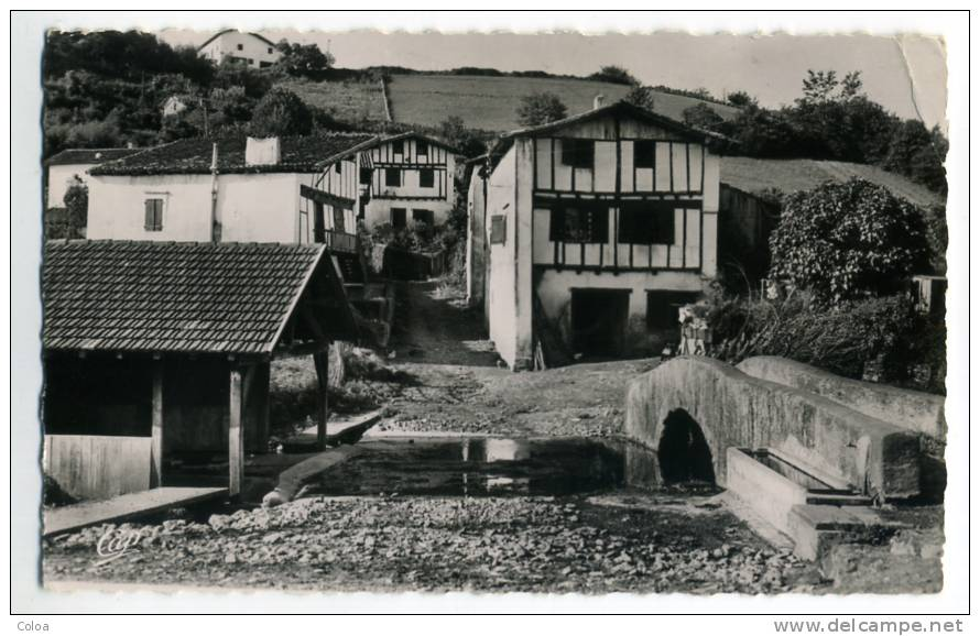 Cambo Les Bains Maisons Basques Du Vieux Cambo - Frankreich