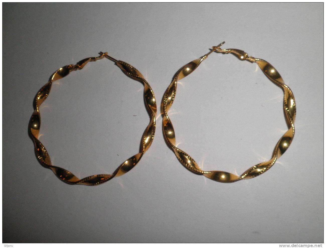 BELLE BOUCLES D OREILLES  METAL - Earrings