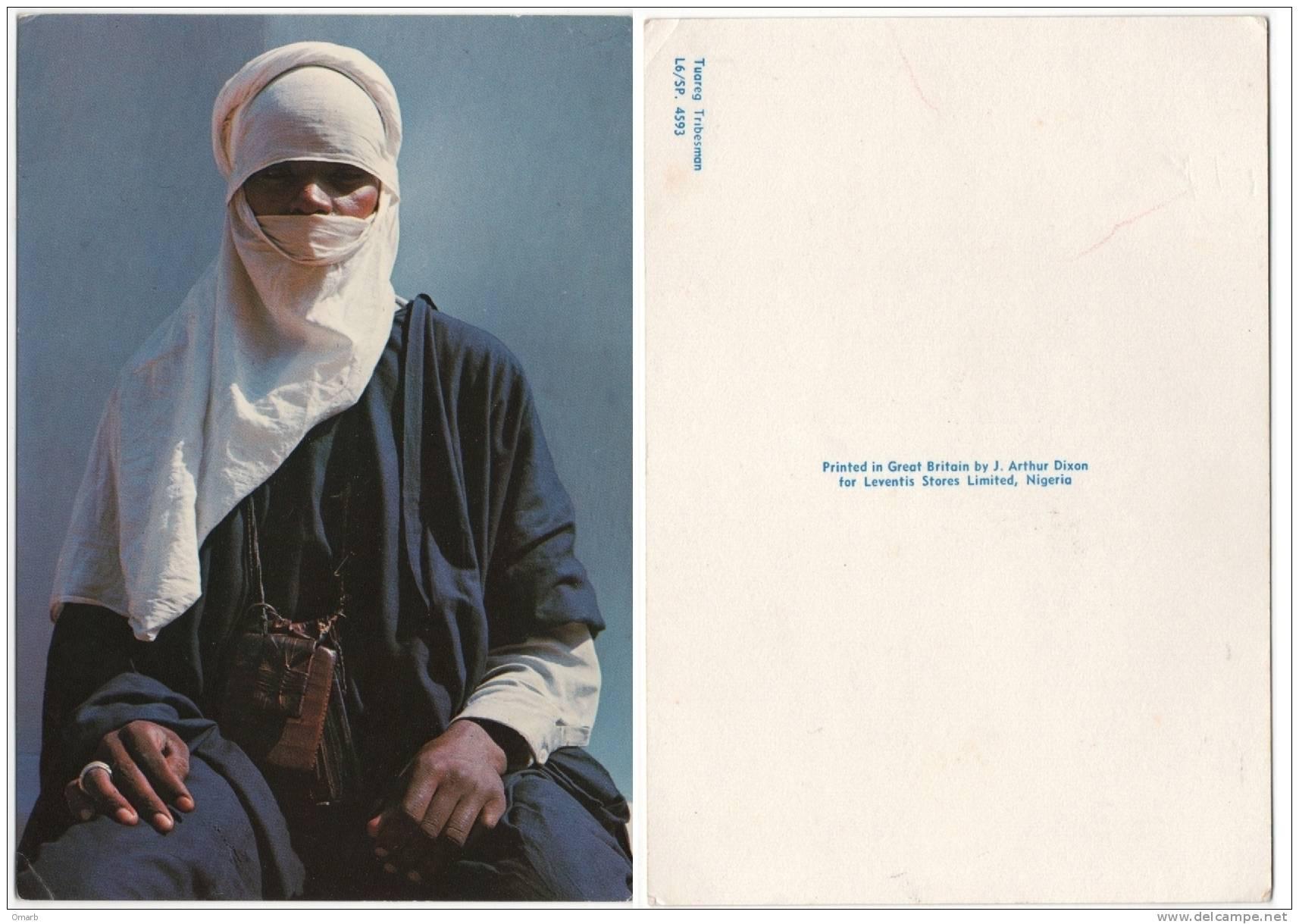 Car002 Cartolina | Postcard | Carte Postale, Nigeria - Tuareg Tribesman - Nigeria