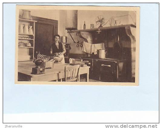 CPA - 73  -VILLARD SALLET - Environs De La Rochette 62. Colonie De Vacances  - La Cuisine - Autres Communes