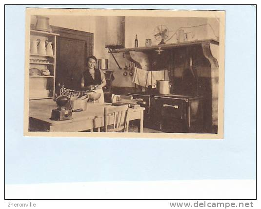 CPA - 73  -VILLARD SALLET - Environs De La Rochette 62. Colonie De Vacances  - La Cuisine - France