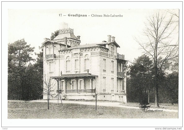Gradignan - Château Bois-Laburthe - Dos écrit En 1915 - Gradignan